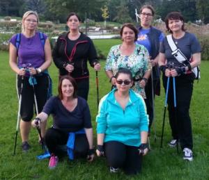 Nordic Walking Gruppe wien