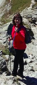 Uschi am Berg
